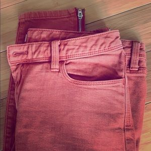 Banana Republic Heritage jeans with zip ankles